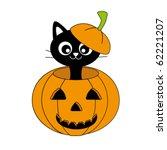 vector halloween pumpkin | Shutterstock .eps vector #62221207