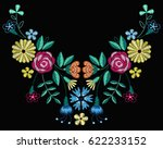 vector design for collar t... | Shutterstock .eps vector #622233152