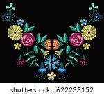 vector design for collar t... | Shutterstock .eps vector #622233152