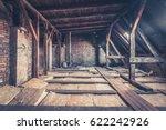 Small photo of attic floor - attic loft / roof construction