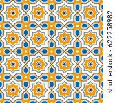 oriental style color geometric... | Shutterstock .eps vector #622258982