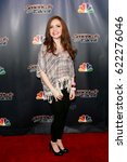 Small photo of NEW YORK-AUG 19: Singer Daniella Mass attends the 'America's Got Talent' Season 10 Results Show at Radio City Music Hall on August 19, 2015 in New York City.
