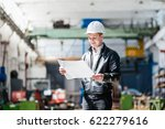 a young successful engineer... | Shutterstock . vector #622279616