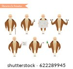 grandfather character for... | Shutterstock .eps vector #622289945