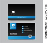 business card template color | Shutterstock .eps vector #622297748