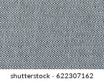 closeup black and white color... | Shutterstock . vector #622307162