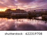 Evening In The Harbor Of The...