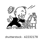 jackpot    retro clipart...   Shutterstock .eps vector #62232178