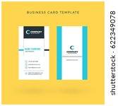 modern creative vertical double ... | Shutterstock .eps vector #622349078