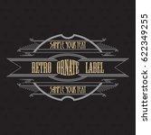 vintage typographic label...   Shutterstock .eps vector #622349255