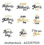 mothers day lettering... | Shutterstock .eps vector #622357925