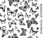 vector illustration seamless... | Shutterstock .eps vector #622358438