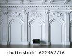 3d render vintage sofa in... | Shutterstock . vector #622362716