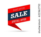 sale special offer banner.... | Shutterstock .eps vector #622362752