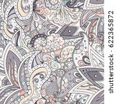 tracery seamless pattern.... | Shutterstock .eps vector #622365872