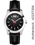 classic analog men's wrist watch   Shutterstock .eps vector #62237206