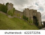 amazing image of dover castle ... | Shutterstock . vector #622372256