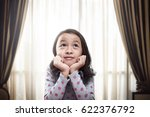 beautiful little asian girl... | Shutterstock . vector #622376792