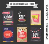 sale flyers  templates and... | Shutterstock .eps vector #622385846
