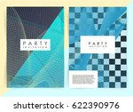 intertwined colorful lines.... | Shutterstock .eps vector #622390976