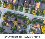 aerial view of residential... | Shutterstock . vector #622397846