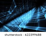 abstract technology illustration | Shutterstock . vector #622399688