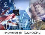 uk stock graphic background on... | Shutterstock . vector #622400342