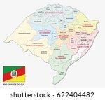rio grande do sul... | Shutterstock .eps vector #622404482