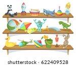 illustration of childrens store ... | Shutterstock .eps vector #622409528