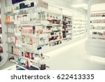 Modern Pharmacy With Variety O...