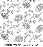 vector black decorative... | Shutterstock .eps vector #622417265