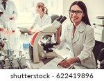 beautiful medical doctor is... | Shutterstock . vector #622419896
