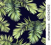 bright tropical background with ... | Shutterstock . vector #622424252