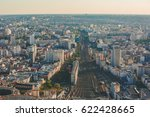 paris  france   april 11  2017  ... | Shutterstock . vector #622428665