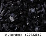 black copy space charcoal... | Shutterstock . vector #622432862