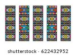 south african ndebele art | Shutterstock .eps vector #622432952