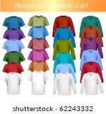 twenty fife design shirt set.... | Shutterstock .eps vector #62243332