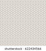 vector monochrome seamless...   Shutterstock .eps vector #622434566