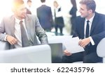 image of business partners... | Shutterstock . vector #622435796