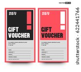 gift voucher ui design with...