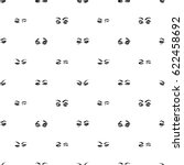 fashion seamless pattern with...   Shutterstock .eps vector #622458692