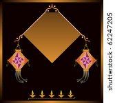 diwali greeting | Shutterstock .eps vector #62247205