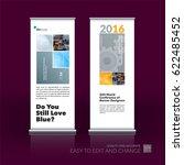 abstract business vector set of ... | Shutterstock .eps vector #622485452
