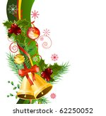 christmas design element with...