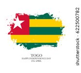 togo independence day  27 april ... | Shutterstock .eps vector #622500782