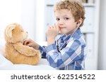 child  patient after health... | Shutterstock . vector #622514522