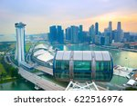 Skyline Of Singapore  View Fro...