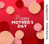 happy mothers day background... | Shutterstock .eps vector #622530656