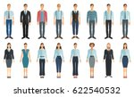 young businessman and... | Shutterstock .eps vector #622540532
