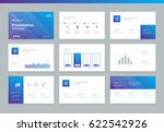 page layout design template for ... | Shutterstock .eps vector #622542926